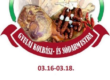 Március 15. - VIII. Gyulai Kolbász és Sódarmustra